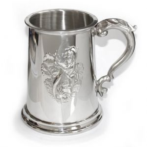 1 Pint Pewter Fisherman Tankard